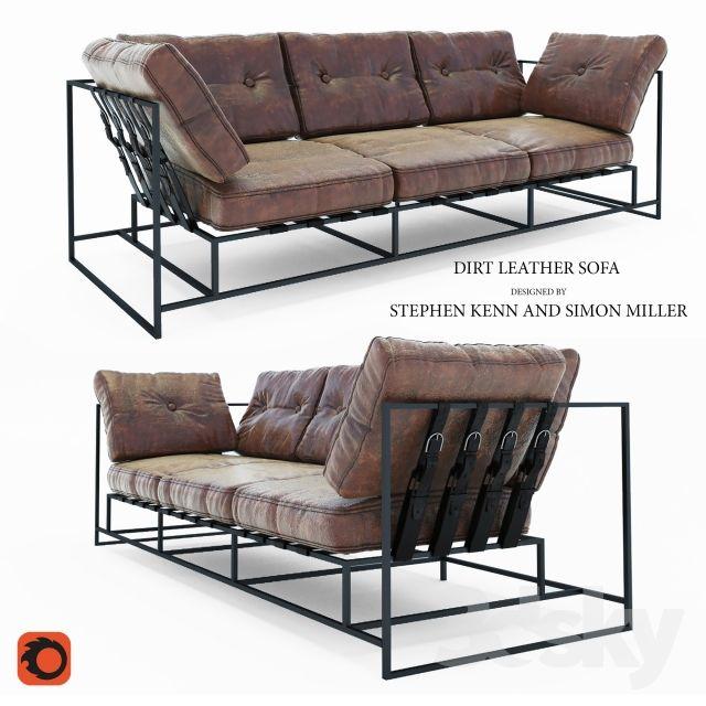Sofa Dirt Leather Sofa · Loft StyleSofa ...