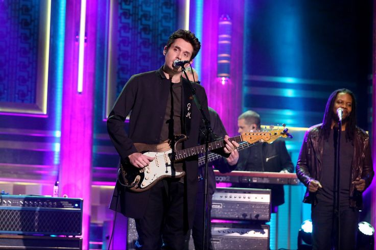 THE TONIGHT SHOW STARRING JIMMY FALLON -- Episode 0585 -- Pictured: Musical guest John Mayer performs on December 06, 2016 -- (Photo by: Andrew Lipovsky/NBC)