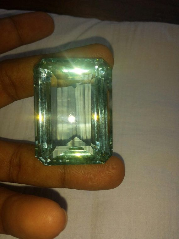 aquamarine baguette Sri Lanka High Quality от ODMIVINTAGE на Etsy