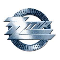 ZZ Top Metal Pin: Circle Logo