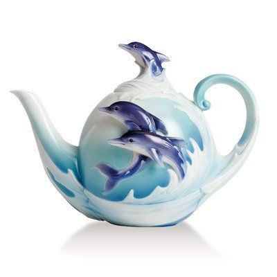 81 best images about all things dolphins on pinterest brooches vintage and swarovski - Franz porcelain teapots ...
