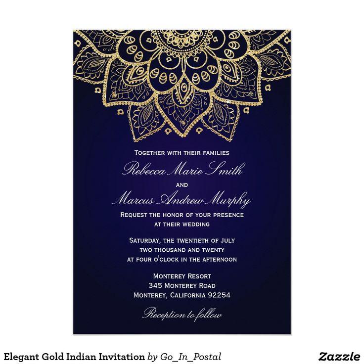 Silver Indian Wedding Invitation: Best 25+ Indian Invitations Ideas On Pinterest