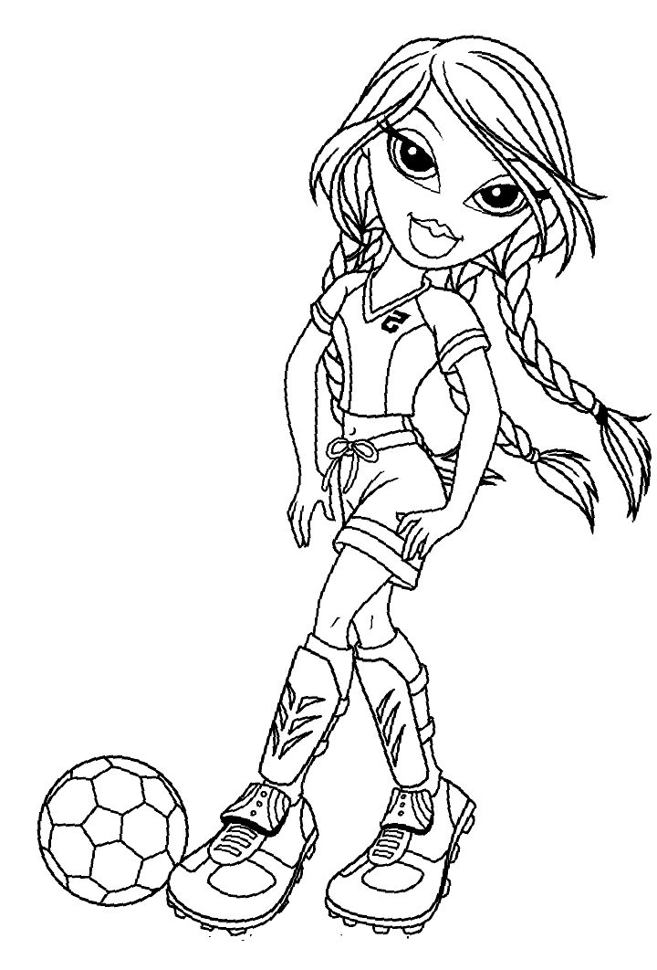 coloring pages for girls 10 | 17 Best images about Bratz Coloring Pages on Pinterest ...