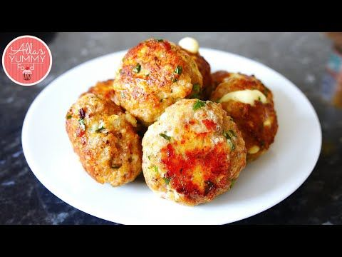 Homemade Meatballs | Cheesy Meatballs | Тефтели с сыром - YouTube