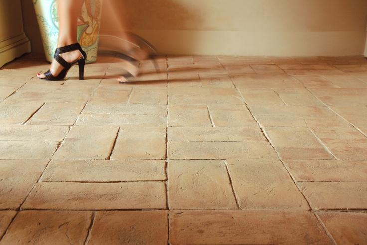 Pavimento in cotto carteggiato Fornace Bernasconi