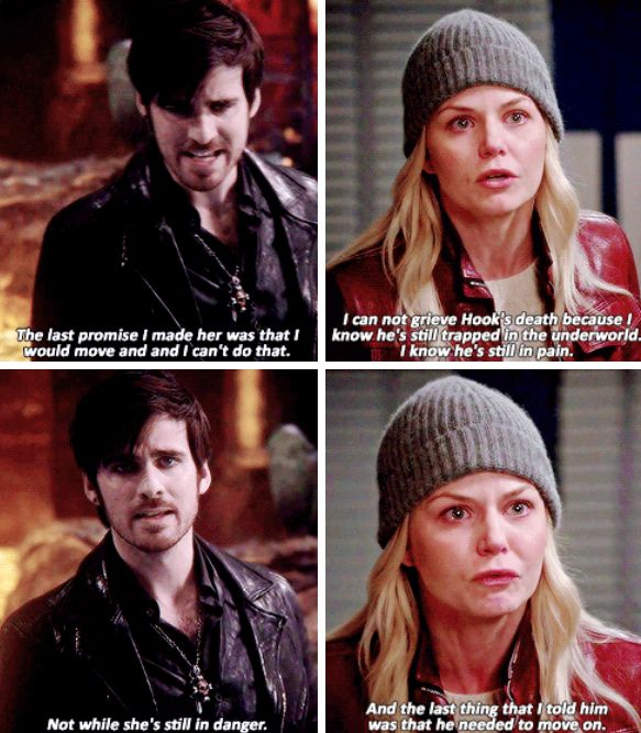 OUAT ~ Killian and Emma can not live with themselves knowing that their soulmate is in danger