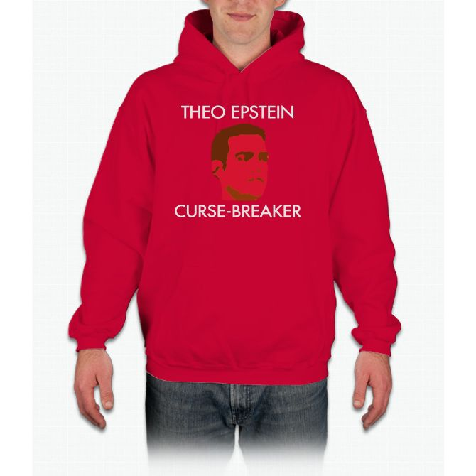 Theo Epstein: Curse-breaker chicago cubs Hoodie