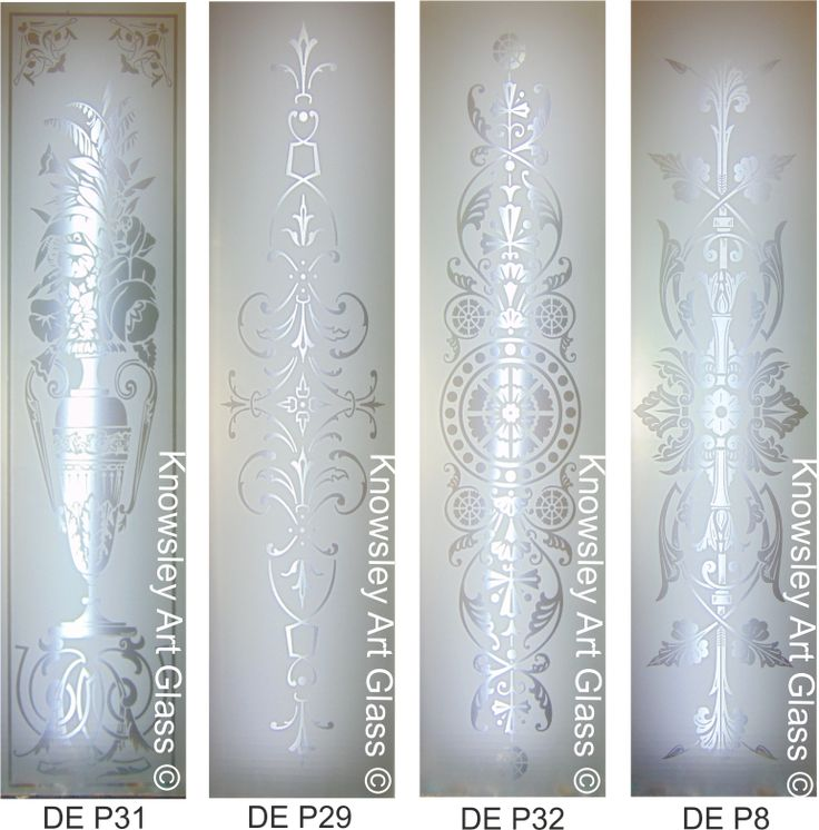 Knowsley Art Glass - Double Etched Glass