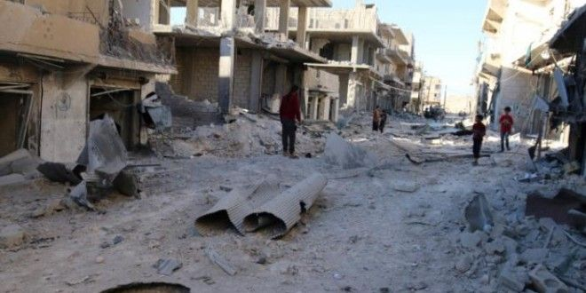 Syria presses Aleppo advance, tells rebels to leave