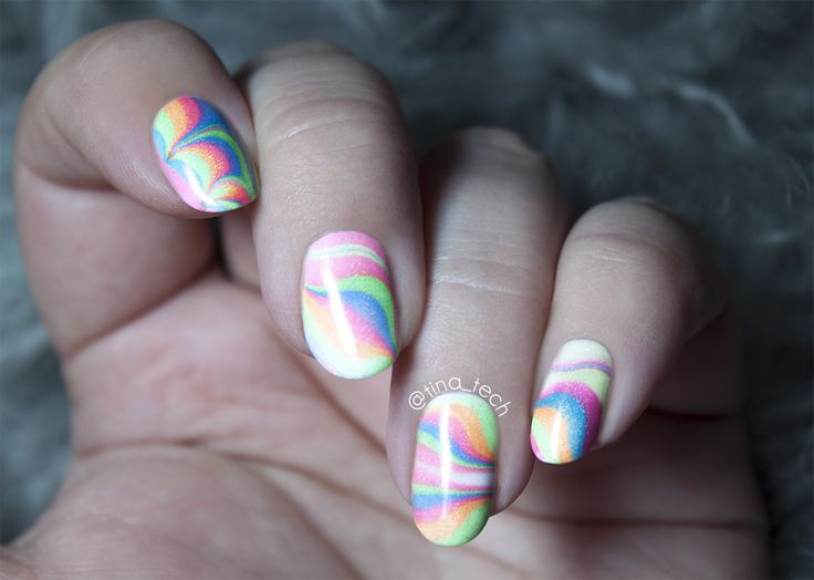 Bliss Polish - How-To Water Marble