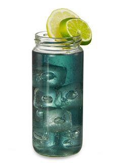 Purple People Eater  Ingredients 4 Parts Pucker® Grape Schnapps 1 Part Cruzan® Rum Splash Lemon Lime Soda   How To 1. Build over ice, stir gently, and serve.