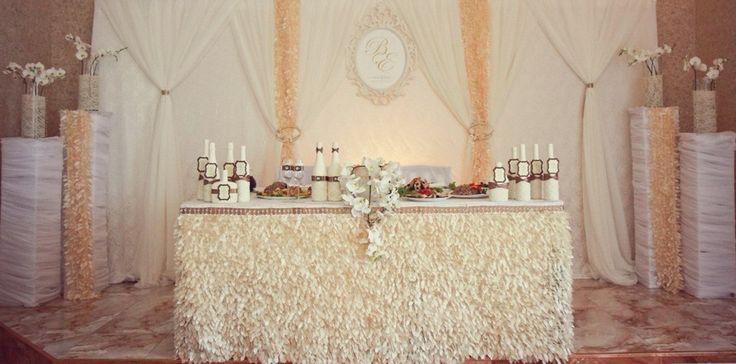 Украшение зала на свадьбу   Свадьбы в коричневых тонах   674 Фото идеи