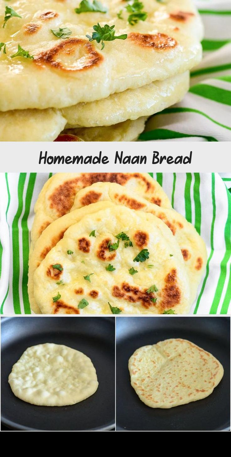 Homemade Naan Bread - So Easy and Soft (+VIDEO) | Lil ...