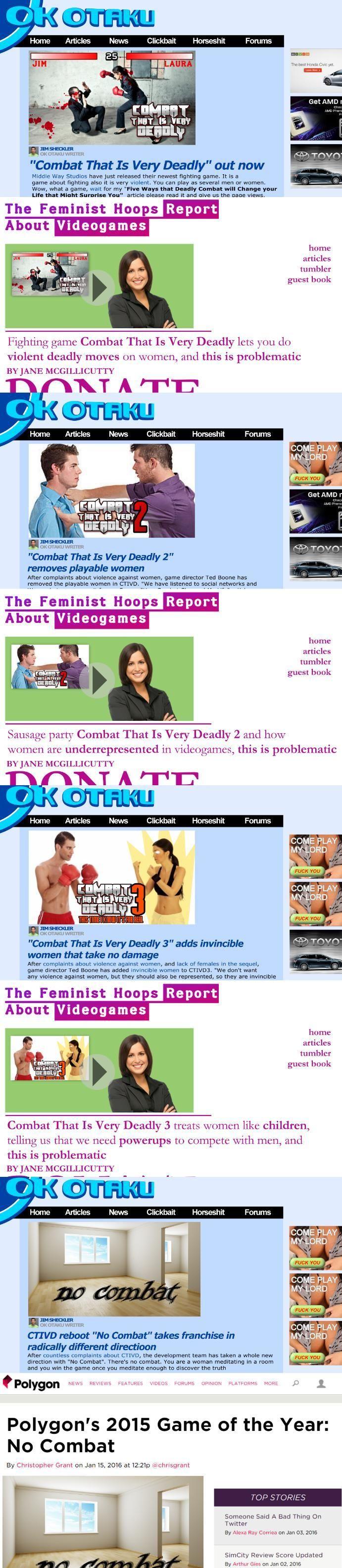 No Combat - Polygon - Know Your Meme