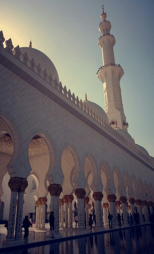 Mosquée Cheikh Zayed Mosquée à Abou Dabi, Émirats arabes unis