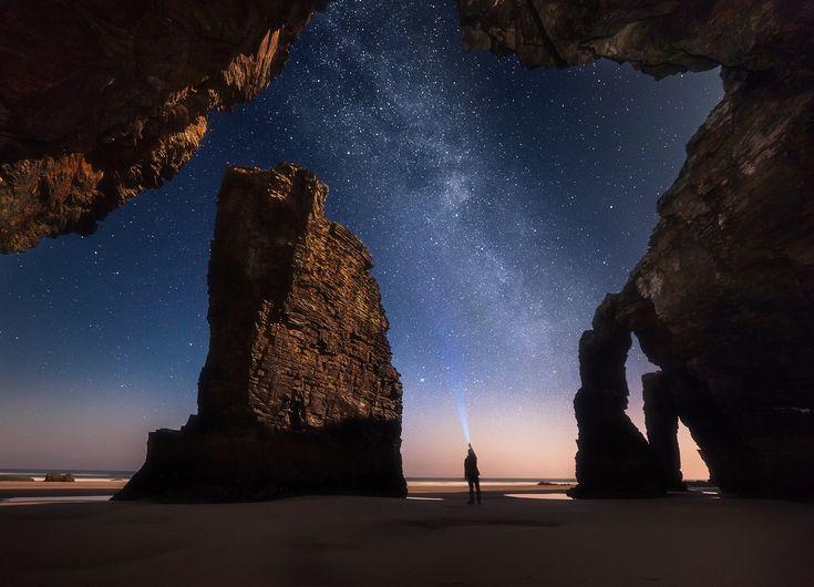 35PHOTO - Сутковой Сергей - Ночь на пляже Кафедралов