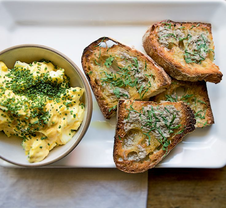 Tired of the same old egg salad sandwich? Give your egg salad a tasty upgrade with Nancy Silverton's bagna cauda, just the way Mario Batali likes it. Then serve it on toast.