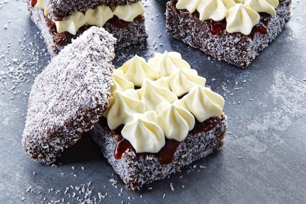 Nothing says Aussie like lamingtons!