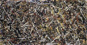 Jackson Pollock, Alchemy, 1947 (Guggenheim)