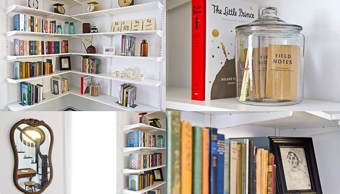 bookshelves inspiration: Entryway Libraries, Libraries Projects, Antiques Book, Budget Libraries, Diy'S Libraries, Book Shelves, Bookshelves Inspiration, Book Libraries, Books Libraries