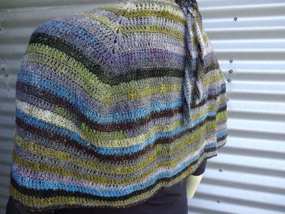 Noro Crocheted Cape