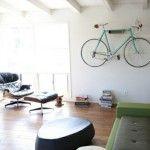 Hippe retro fietsen in de woonkamer!