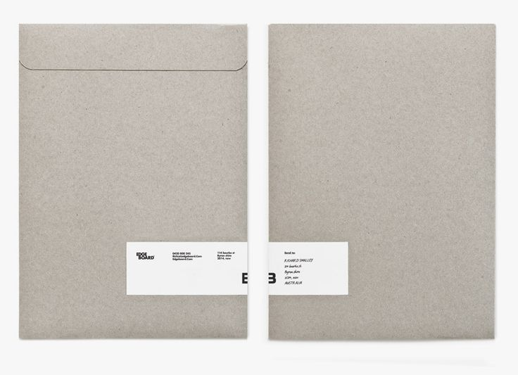 HAMPUS JAGELAND, EDGEBOARD BRANDING: some damn fine envelopes.