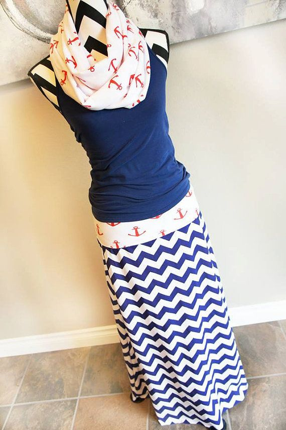 Hey, I found this really awesome Etsy listing at https://www.etsy.com/listing/189706874/nautical-red-anchors-navy-blue-chevron