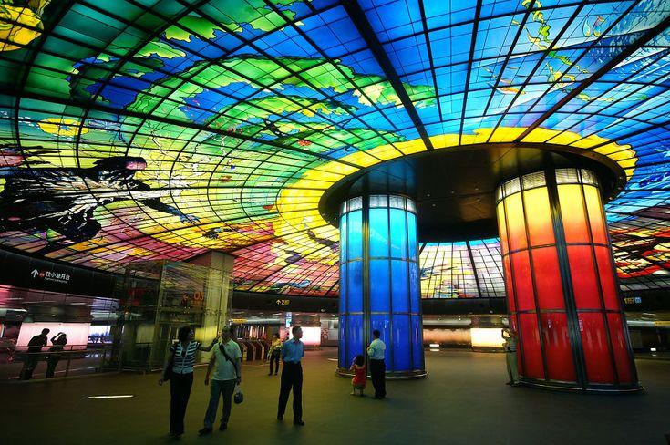 Formosa Boulevard Station, Kaohsiung, Taiwan