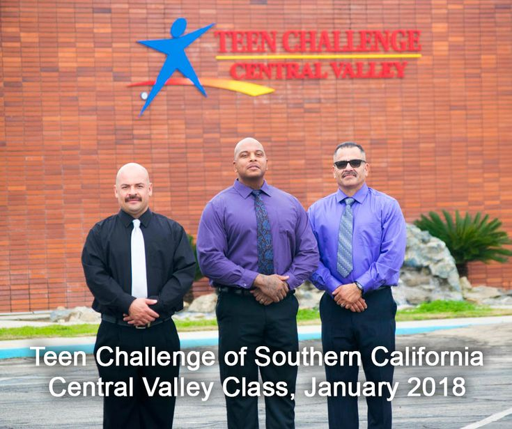 Teen Challenge of Southern California, Central Valley Class, January 2018.