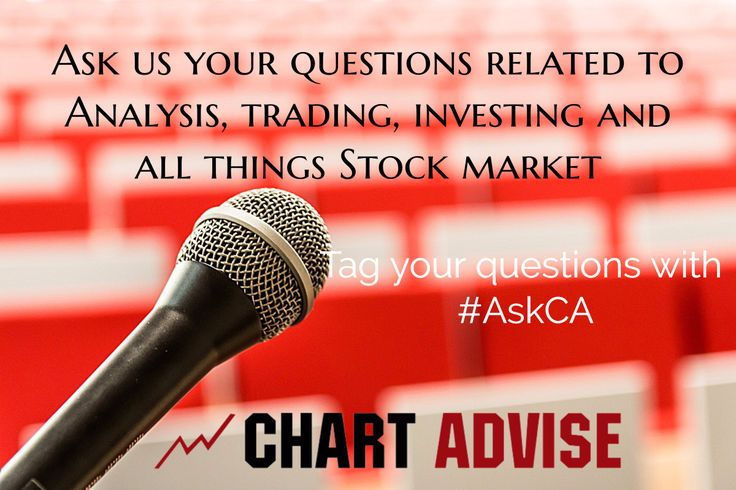 Got a question or two about trading? Where to invest in? Which share is a good trade? How to read a chart? Shoot it to us! We are taking in all your questions related to share markets. Just be sure to tag your questions with #AskCA so we don't miss them.   #sharemarket #stockmarket #chartadvise #rajavenkatraman shares #stocks #AskCA #bseindia #nseinida #sensex #tradingstrategies #intradaytrading