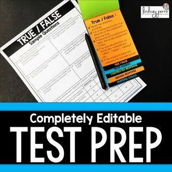 Do your students struggle with answering certain types of test questions? This review resource has you covered! What is Included? ►► A two page per question style review to help students learn HOW to read and solve each type of problem.