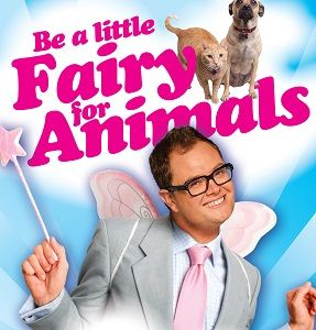 Is Alan Carr's new charity ad for PETA a clichéd stereotype or just harmless fun?