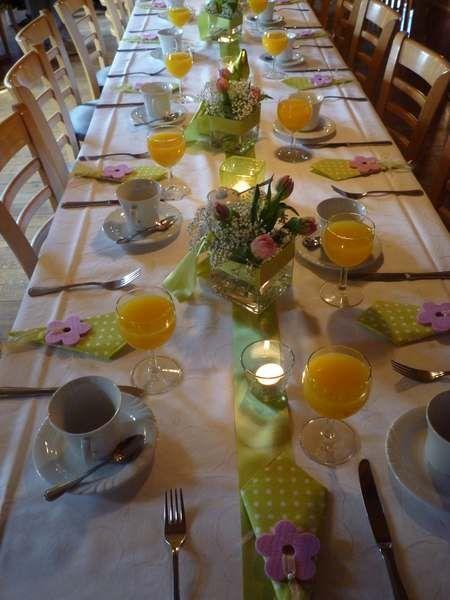 Tischdeko Der Mai ist gekommen Tischdekorationen 2