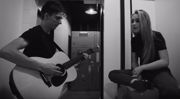 """I really enjoy Sabrina Carpenter's song """"Thumbs!"""" It is so cute and catchy!! What do you think of it?  Listen to it here and check out her acoustic versio"""