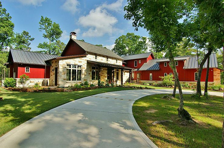 Texas Farmhouse Houses Pinterest