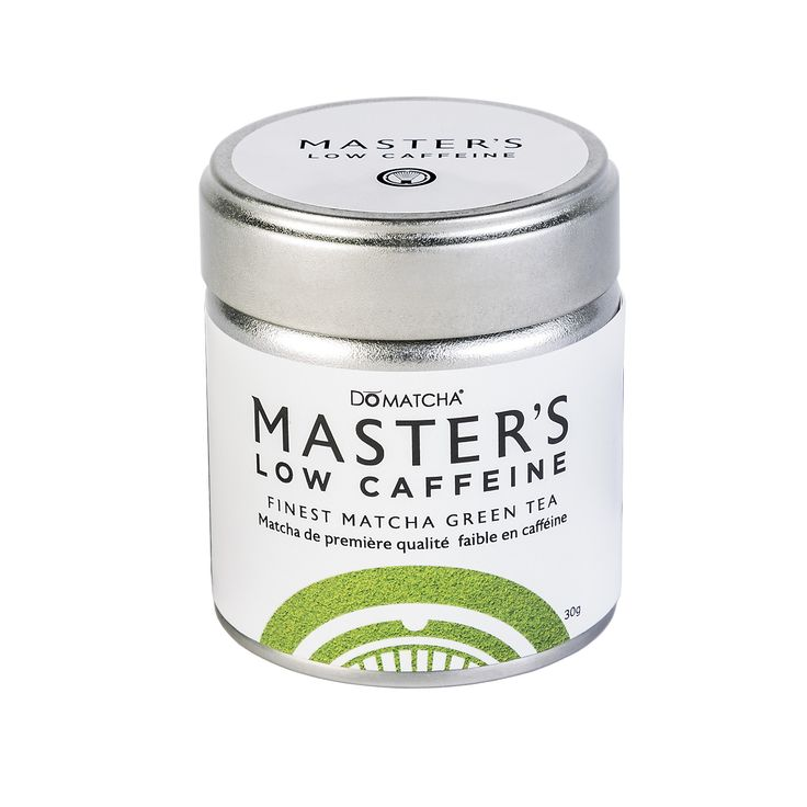 DoMatcha Low Caffeine - the first decaf Matcha on the market! Our Low Caffeine Matcha has the equivalent caffeine as a decaf coffee (6mg/g) and all the same great health benefits as regular Matcha! Perfect for an evening tea or those more sensitive to caffeine. #Matcha #Decaf #Tea #Green #Relax