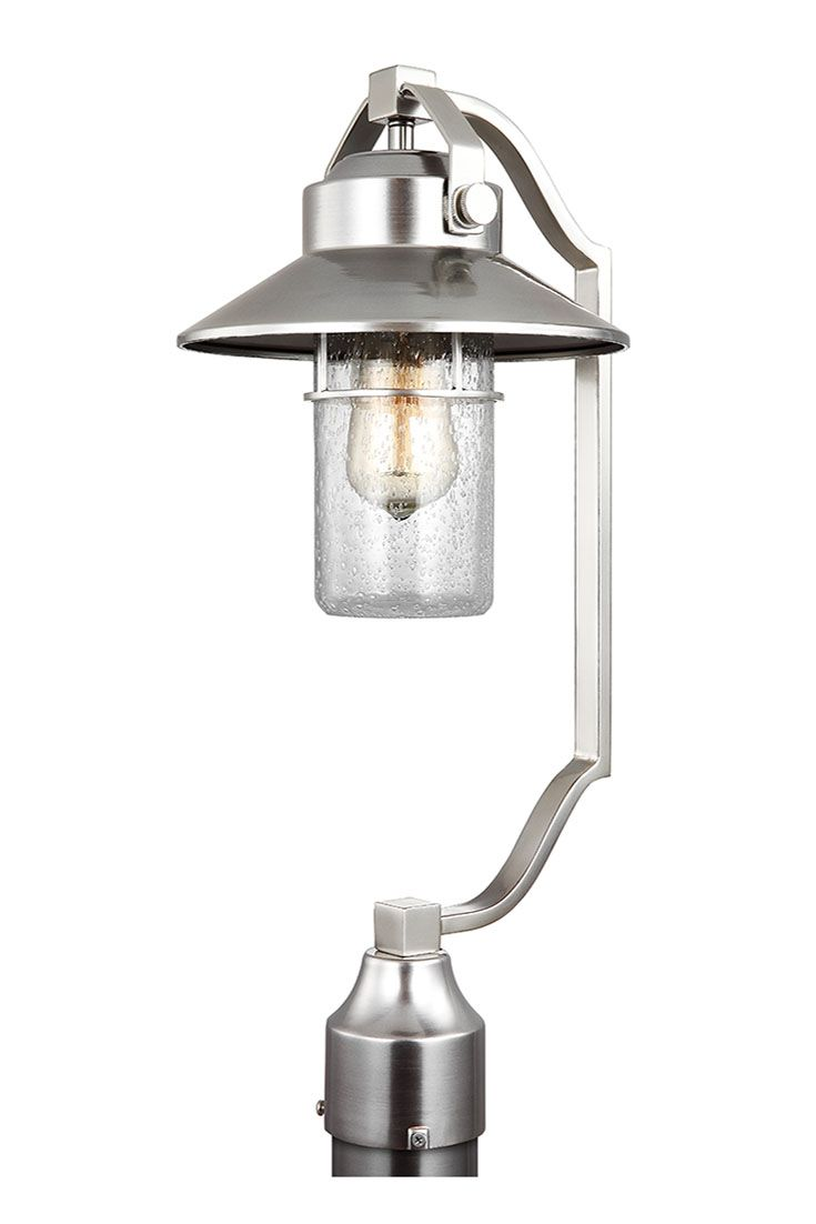 Industrial outdoor lamp - Boynton 1 Light Outdoor Post Lantern By Feiss Taking Inspiration From Both Industrial And