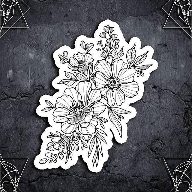 #tattoos #tattooart #tattoodesigns #tattooidea #tattoosforwomen   – flower tattoos