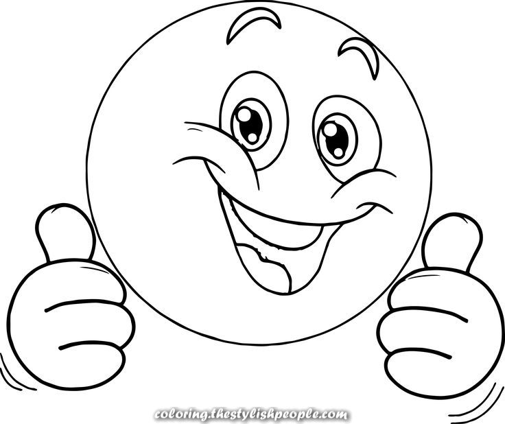 Exceptional Cool Very Blissful Emoticon Face Coloring Web Page Emoji Coloring Pages Coloring Pages Happy Emoticon