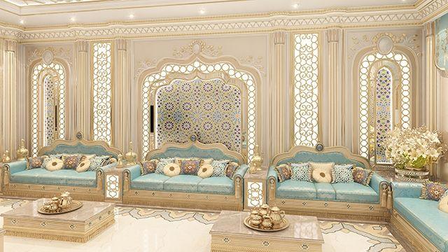 Palatial Majlis | gyps | Pinterest | Moroccan, Interiors