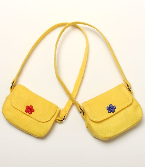 This little bag is so cute!  ITEM VIEW : Bag - KID/BID Yellow sweet bag
