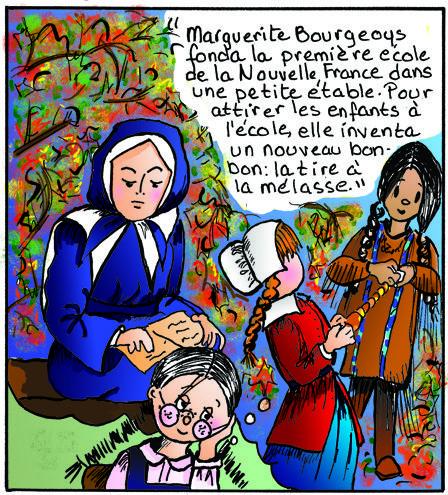 La tire Sainte-Catherine - avec Marguerite Bourgeoys! St.Catherine toffee - featuring Marguerite Bourgeoys!