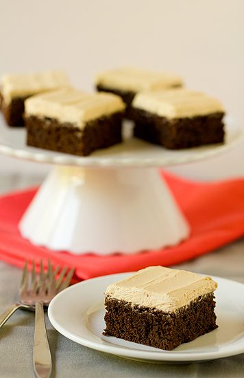 Mocha Brownies By Brown Eyed Baker