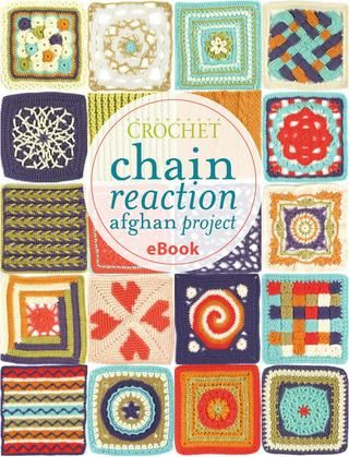 FREE PATTERNS ~ WITH DIAGRAMS ~ The Chain Reaction Afghan ebook