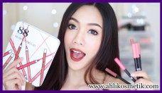 2.Bibir Cantik Korea Pakai 88 Holiday Lip Pencil