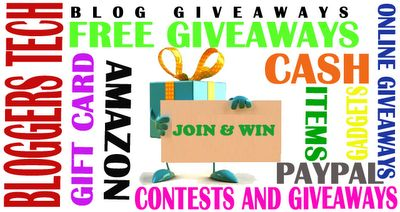 Join the lists of #Blog #Giveaways where you could #WIN some different items and cash. Visit http://www.bloggerstech.com/ today!