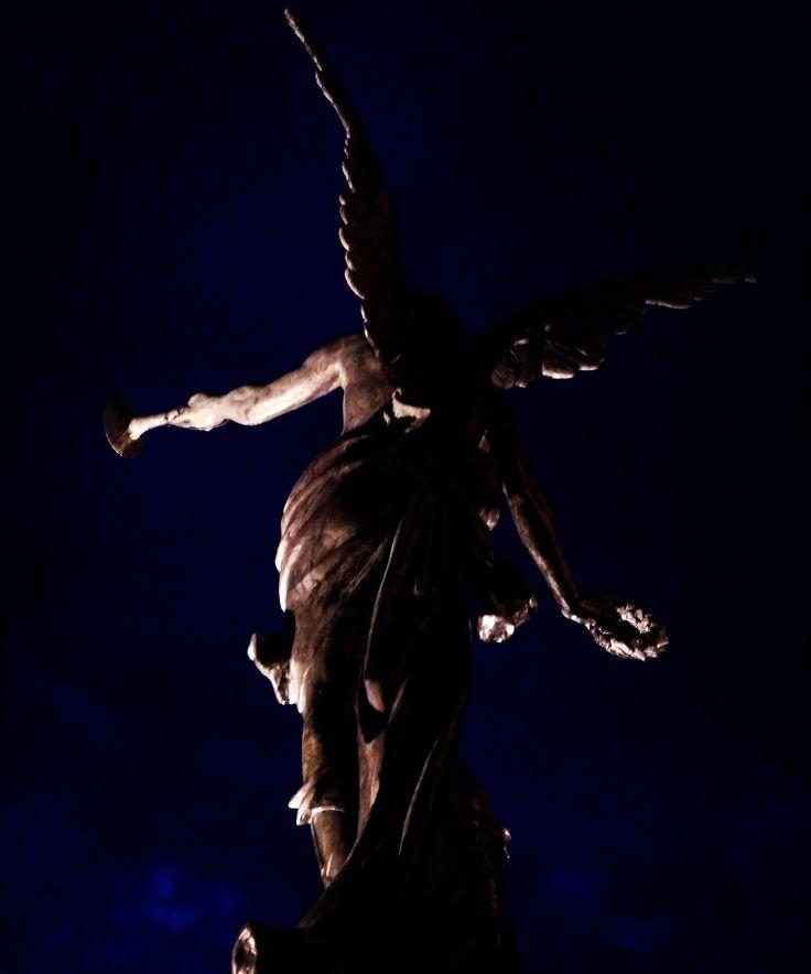 Escultura, Monumento puente boyacá, Angel