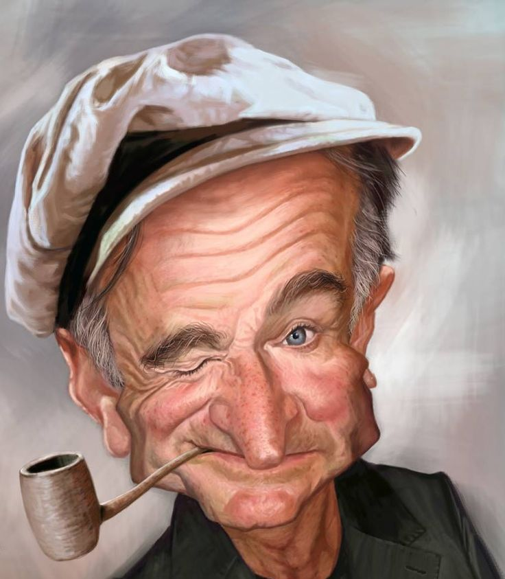 Robin Williams By Tivo Aguilar Characturas Pinterest