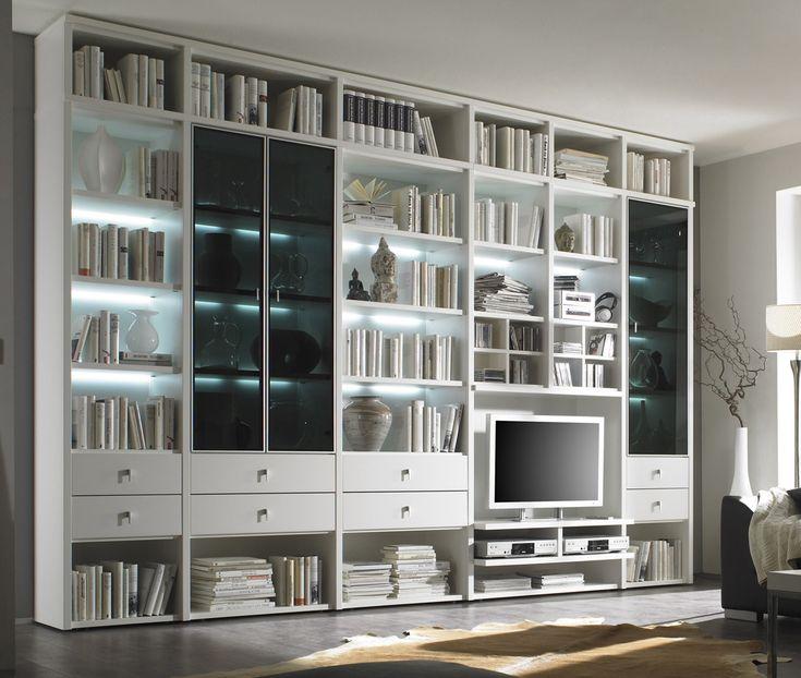 8 Trends Bilder Von Bücherwand Mit Tv   Regalsystem ...